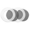 McNett kit de reparación para mosquiteras - Equipo para cuidado y reparación de la tienda de campaña - blanco/negro